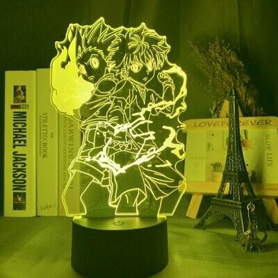 Gon And Killua 3D Night Light Table Lamp