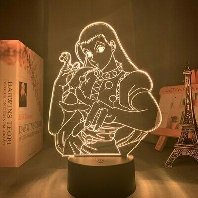 Illumi Zoldyck 3D Night Light Table Lamp