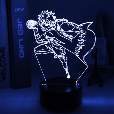 Japanese Manga Naruto 3D Night Light Table Lamp