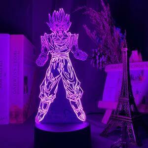 Goku Super Saiyan 3D Night Light Table Lamp