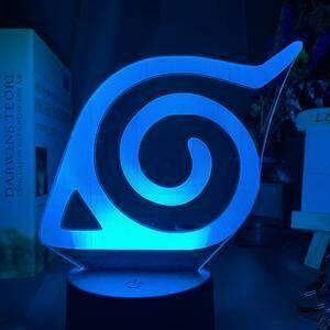 Konoha 3D Night Light Table Lamp