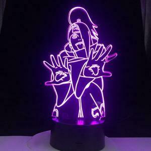 Deidara 3D Night Light Table Lamp