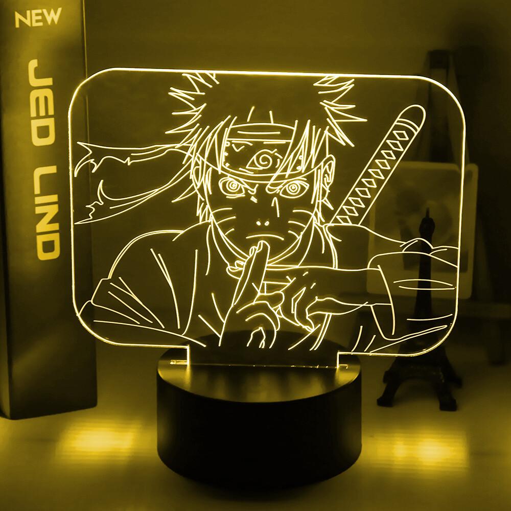 Naruto Uzumaki 3D Night Light Table Lamp