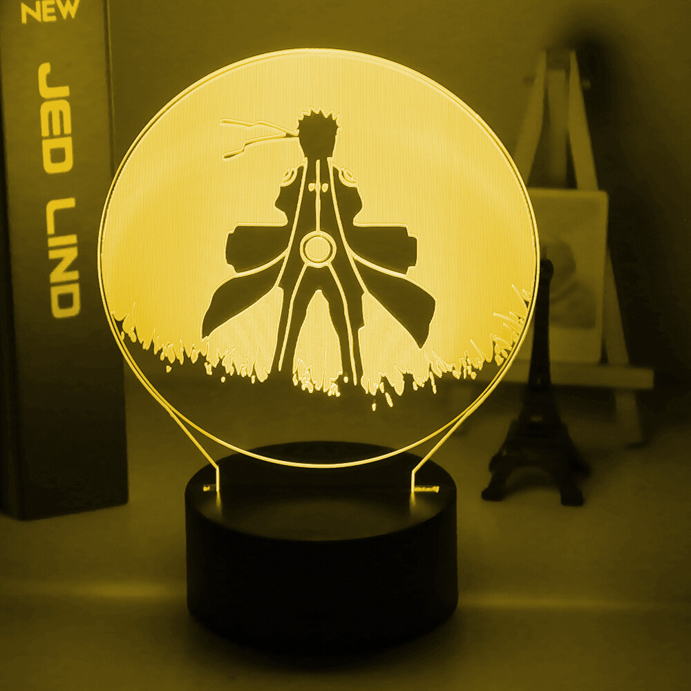 Naruto Uzumaki Naruto 3D Night Light Table Lamp