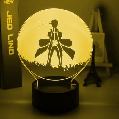 Naruto Uzumaki Naruto 3D Night Light Table Lamp