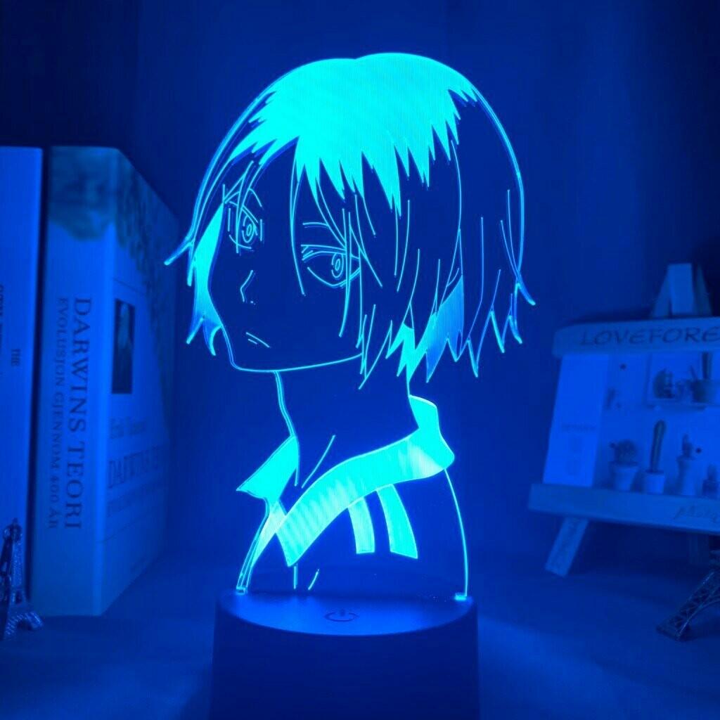 Kenma Kozume Haikyuu 3D Night Light Table Lamp