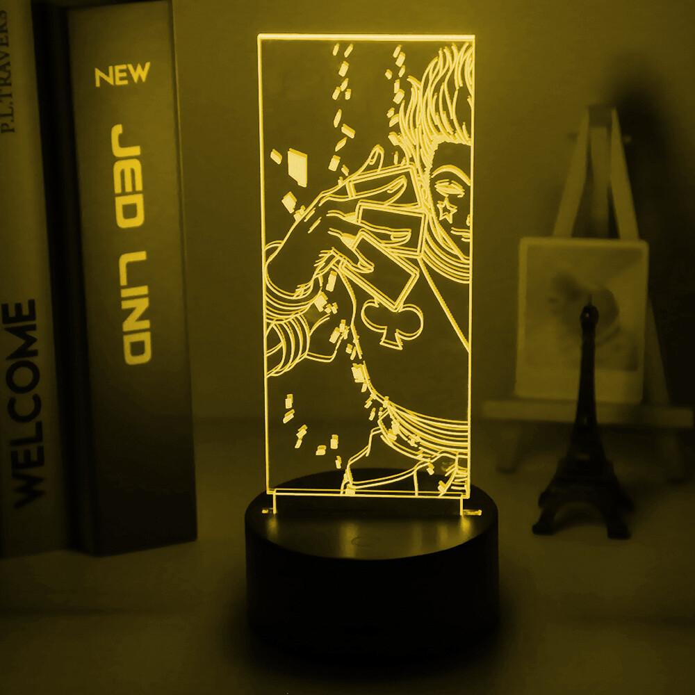 Anime Hunter X Hunter Hisoka 3D Night Light Table Lamp