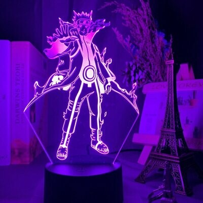 Kyuubi Mode Naruto 3D Night Light Table Lamp