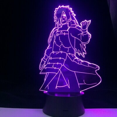 Madara Uchiha 3D Night Light Table Lamp