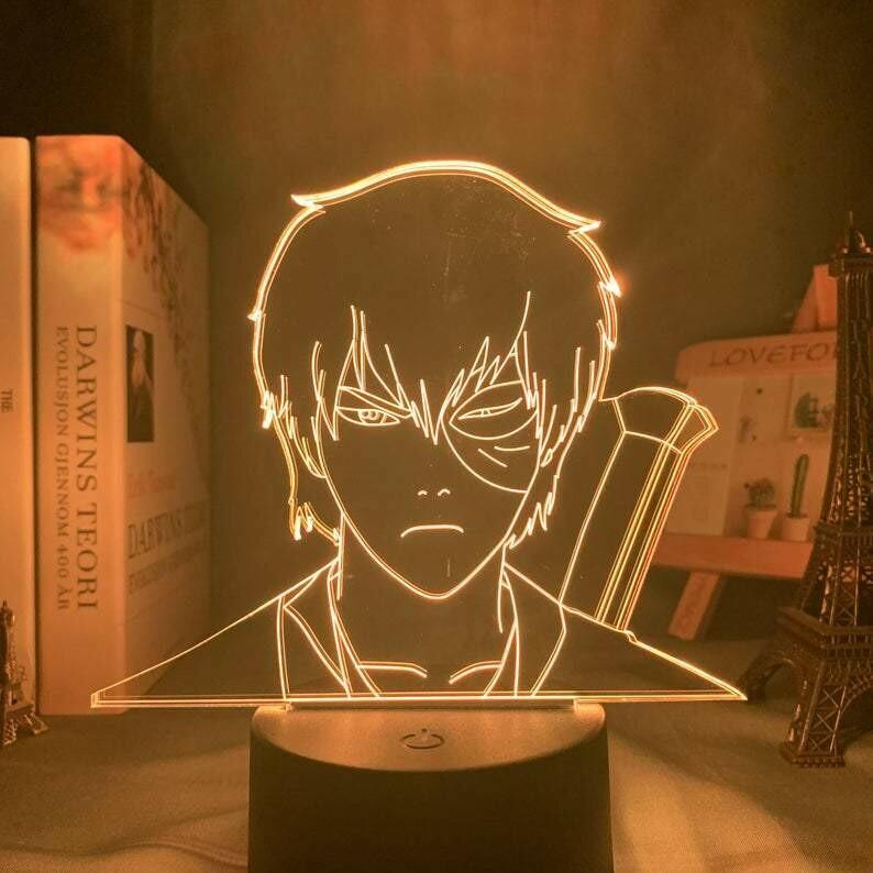 Prince Zuko 3D Night Light Table Lamp
