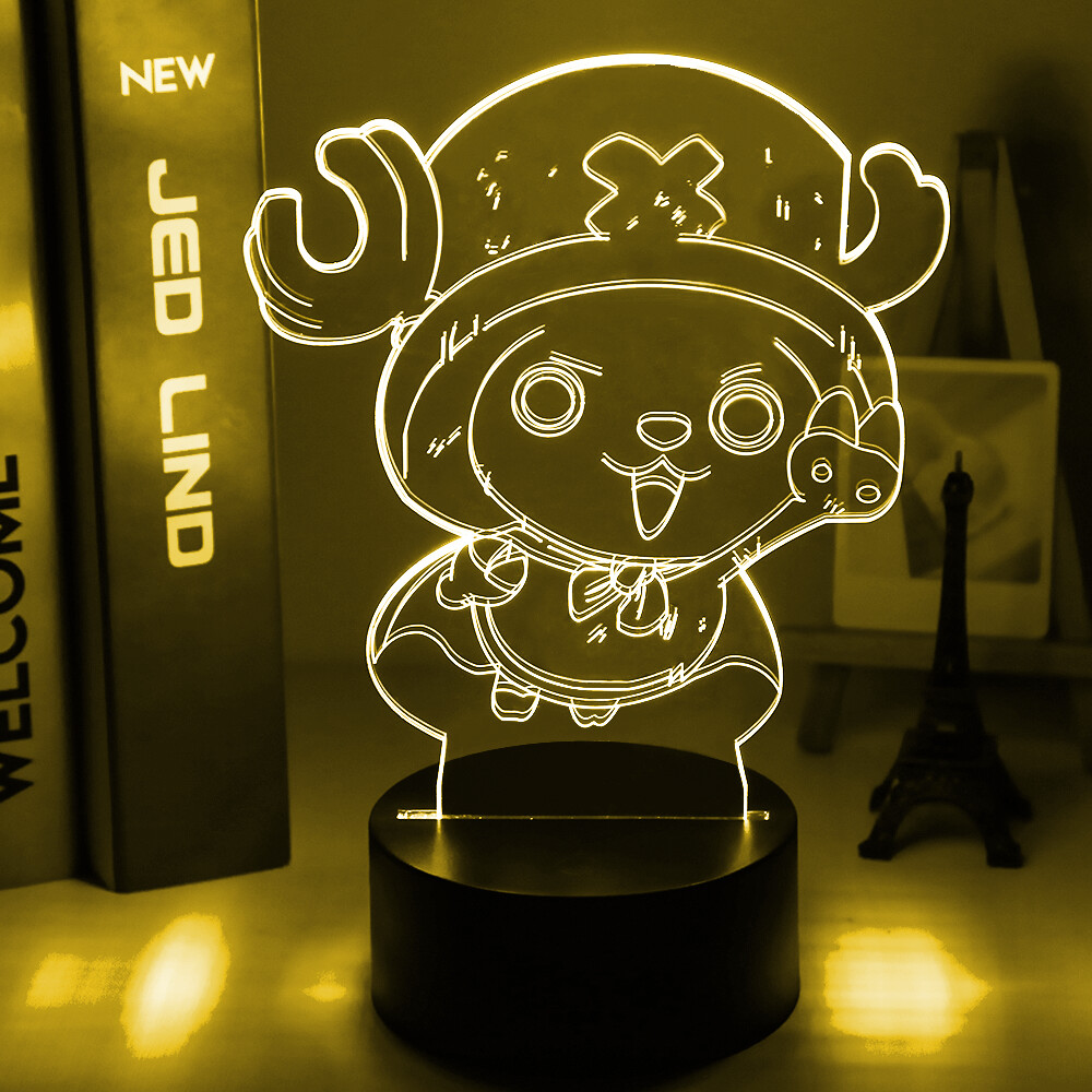 Tony Tony Chopper Figure One Piece 3D Night Light Table Lamp