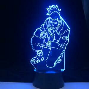 Shikamaru 3D Night Light Table Lamp