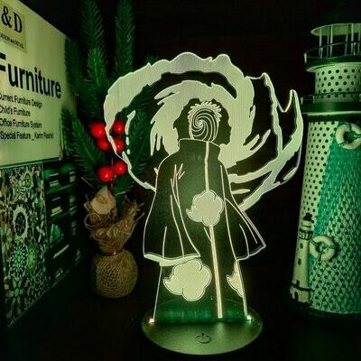 Obito 3D Night Light Table Lamp