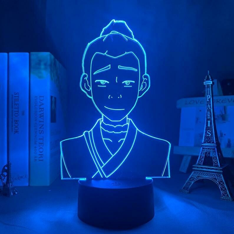 Sokka 3D Night Light Table Lamp