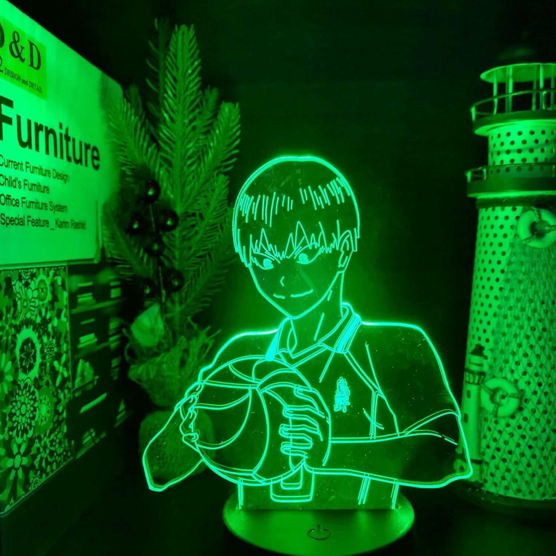 Tobio Haikyuu 3D Night Light Table Lamp