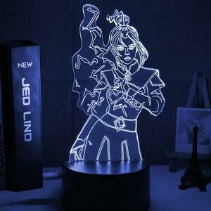Princess Azula 3D Night Light Table Lamp