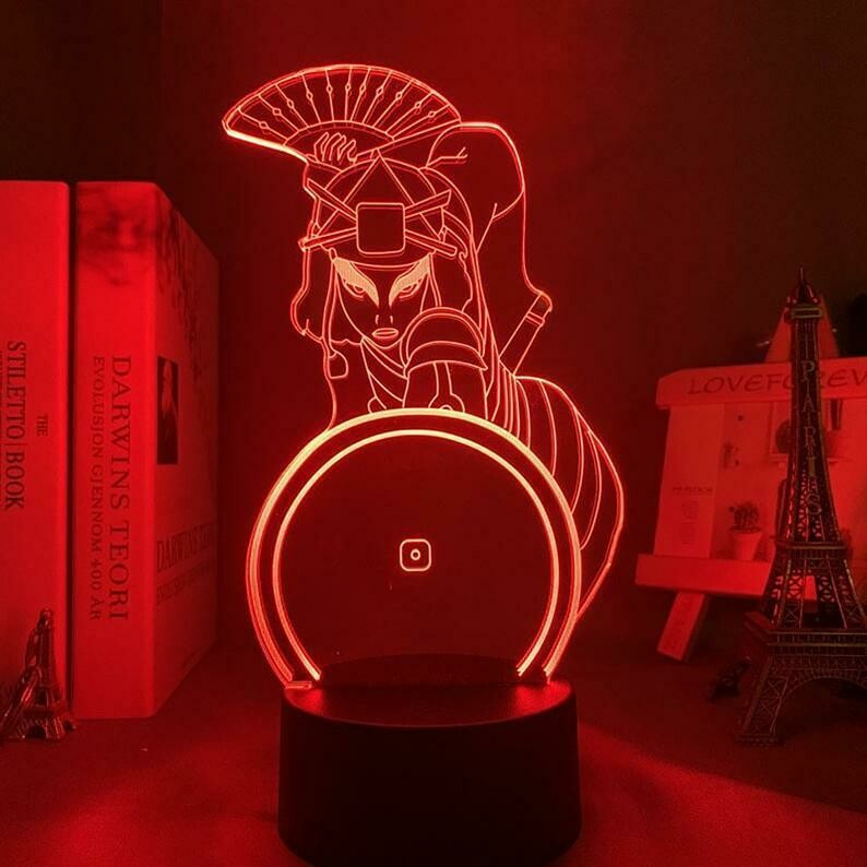 Suki 3D Night Light Table Lamp