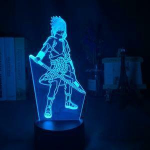 Teenage Sasuke 3D Night Light Table Lamp