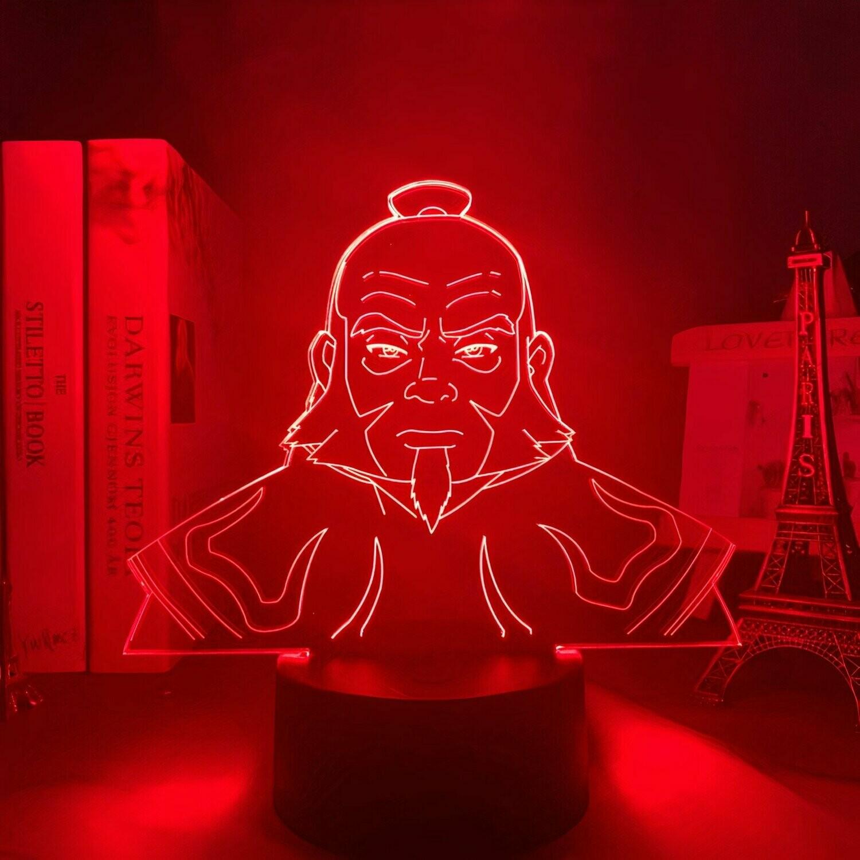 White Lotus Iroh 3D Night Light Table Lamp