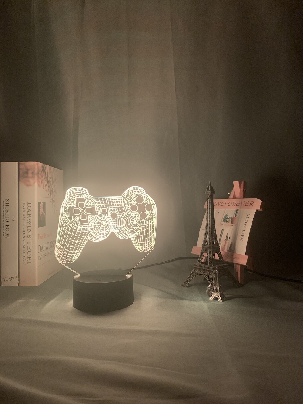P4P Game Pad Event Prize Game- 3D Night Light Table Lamp