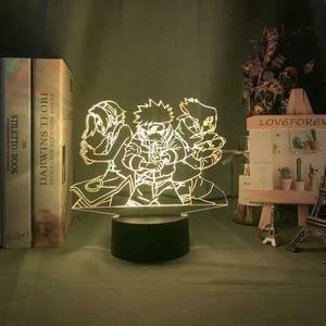 Team Naruto 3D Night Light Table Lamp