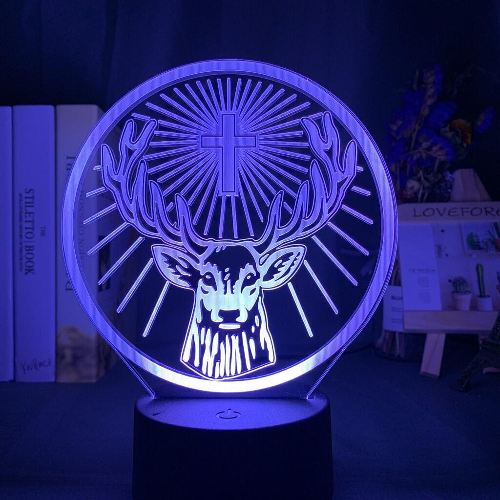 Jagermeister 3D Night Light Table Lamp