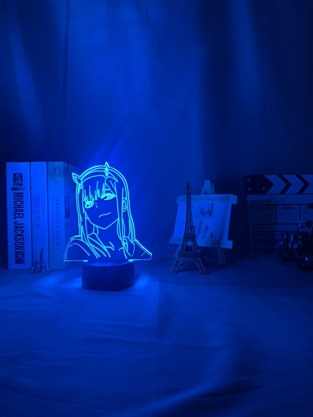 Sailor Moon Anime Zero Two Figure Darling In The Franxx - 3D Night Light Table Lamp