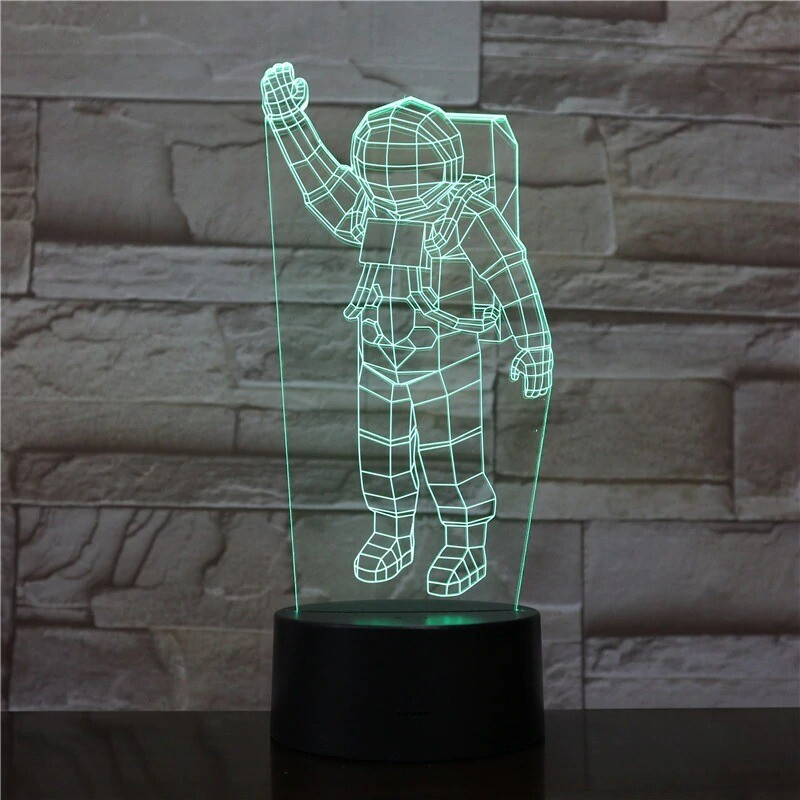 Astronaut - 3D Night Light Table Lamp