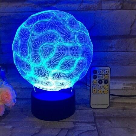 Brain - 3D Night Light Table Lamp