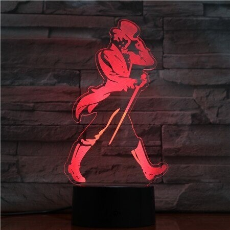 Figure Man - 3D Night Light Table Lamp