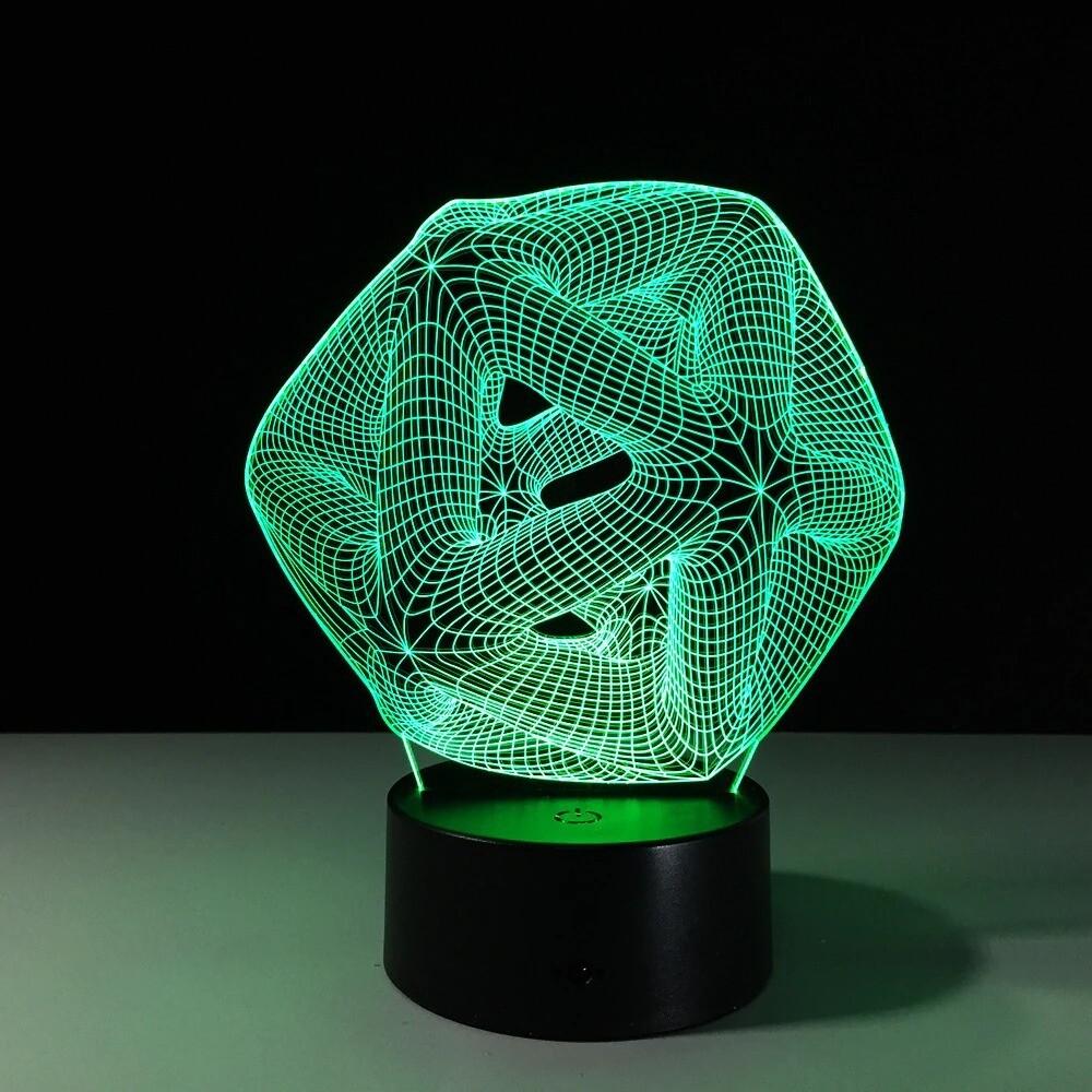 Hollow Knot - 3D Night Light Table Lamp