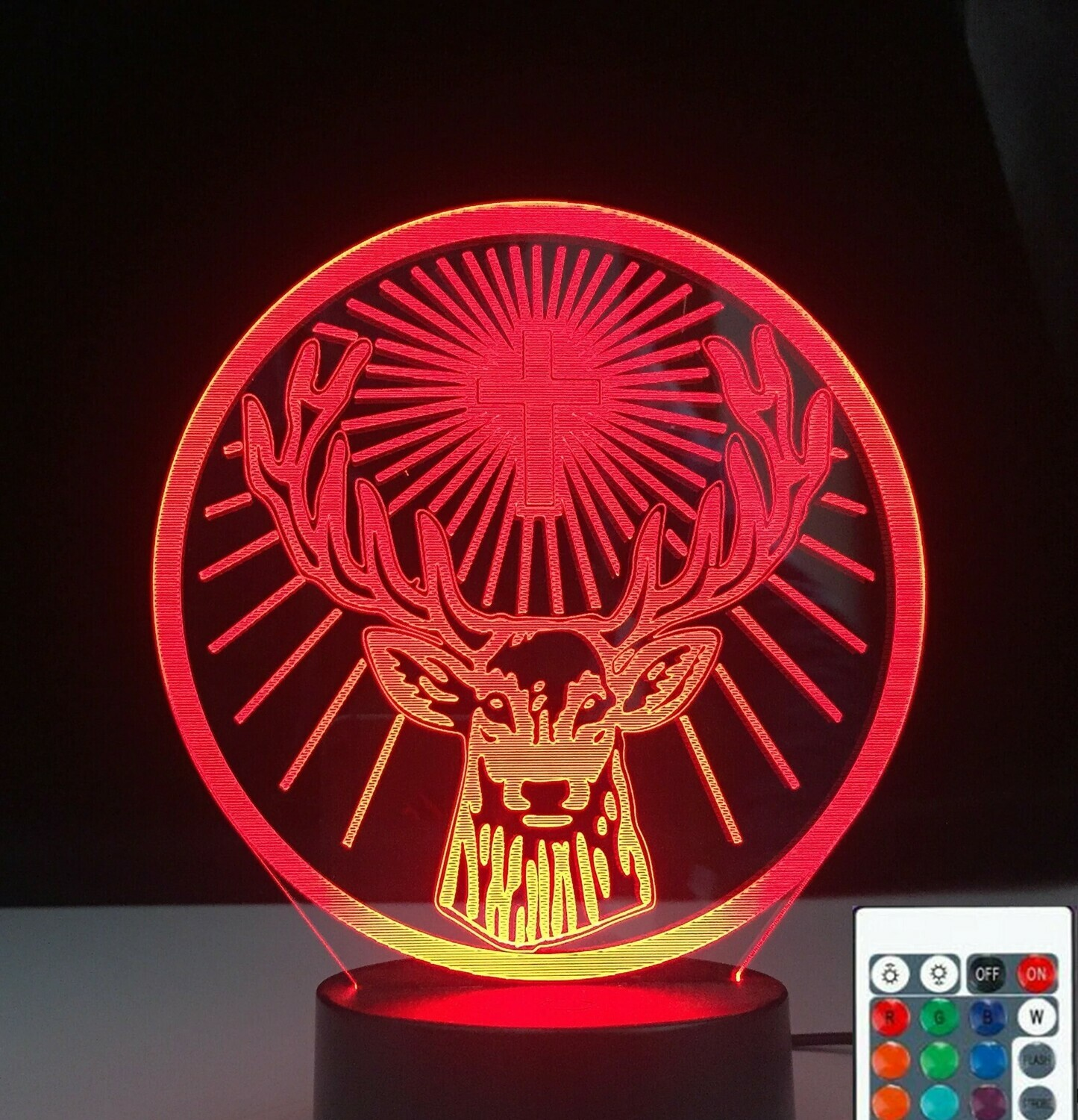 Jagermeister - 3D Night Light Table Lamp