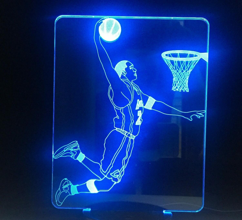 Play Basketball - 3D Night Light Table Lamp
