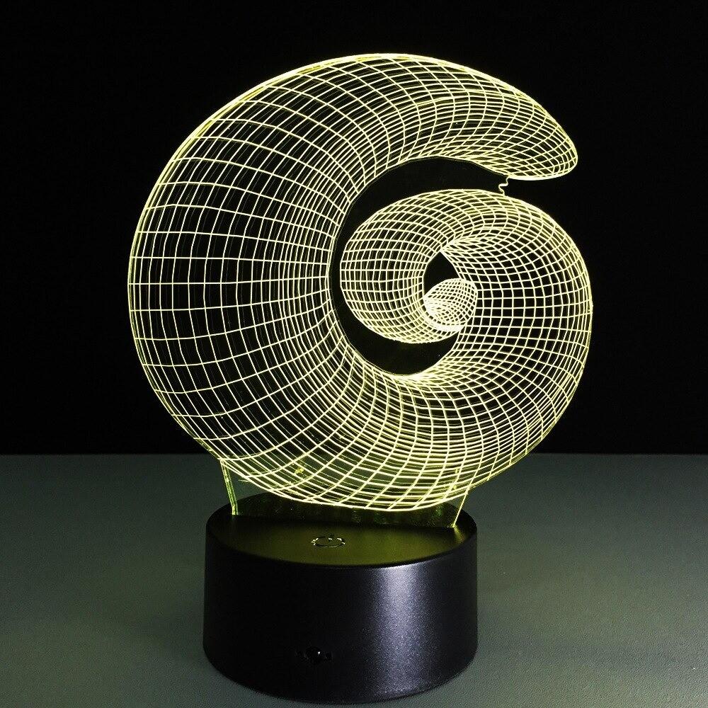 Novelty Atmosphere  - 3D Night Light Table Lamp