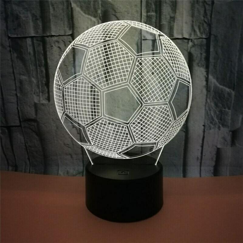 Fixture Football - 3D Night Light Table Lamp