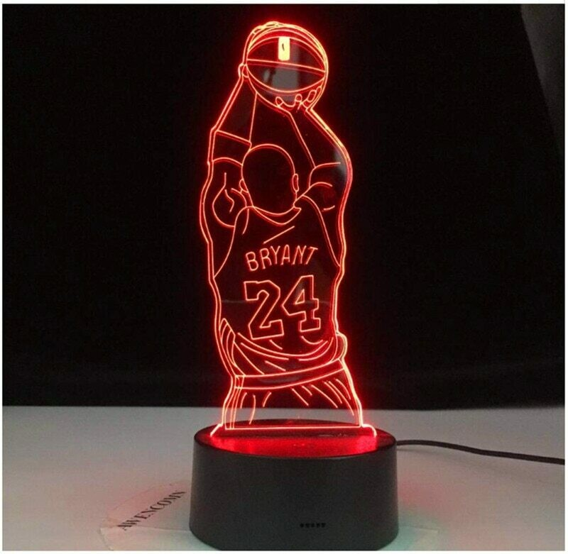 Kobe Bryant - 3D Night Light Table Lamp