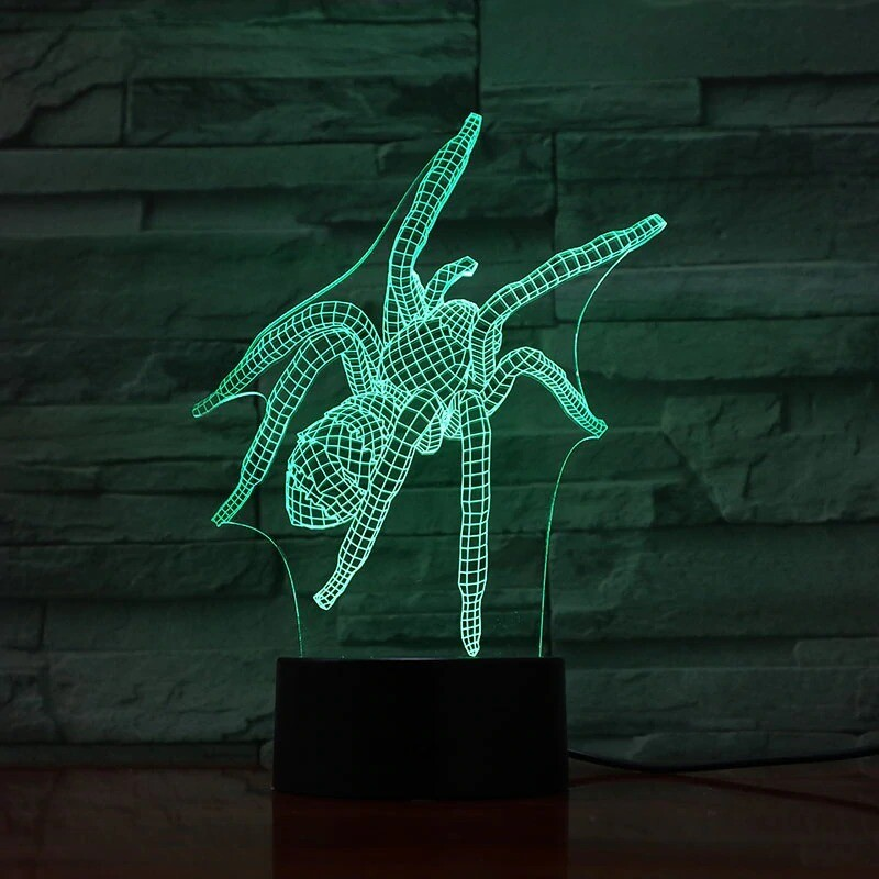 Spider Insect - 3D Night Light Table Lamp