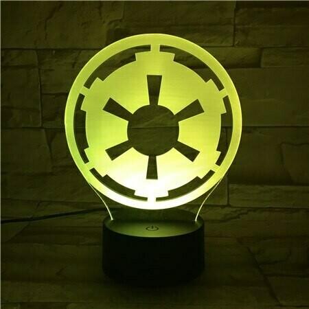 Wheel - 3D Night Light Table Lamp