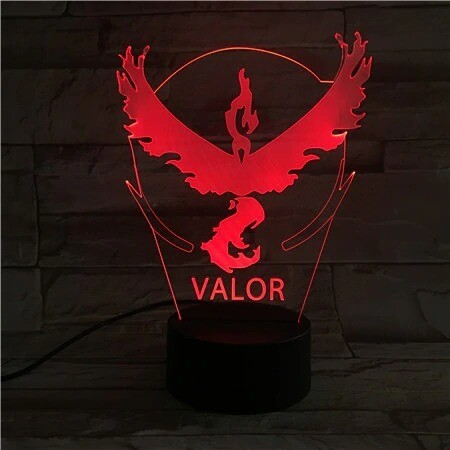 Valor - 3D Night Light Table Lamp