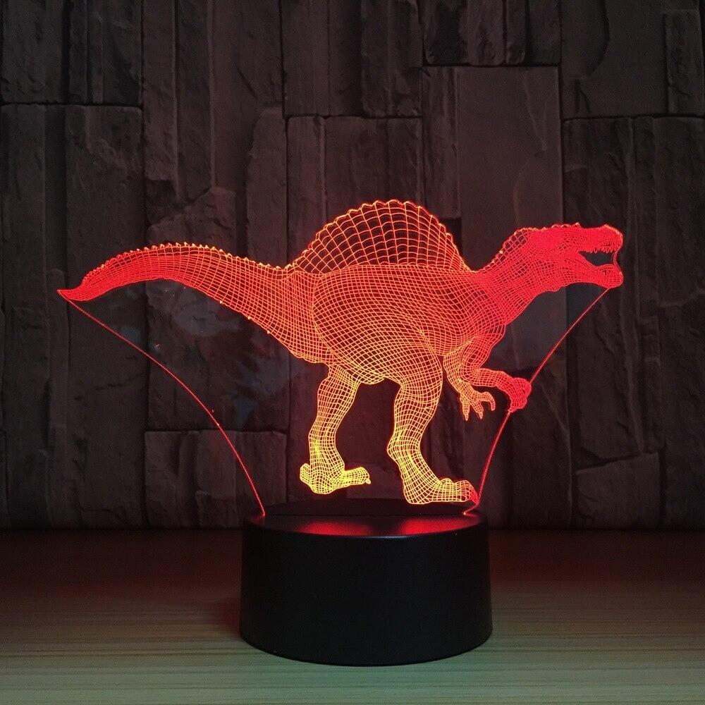 Dinosaur - 3D Night Light Table Lamp