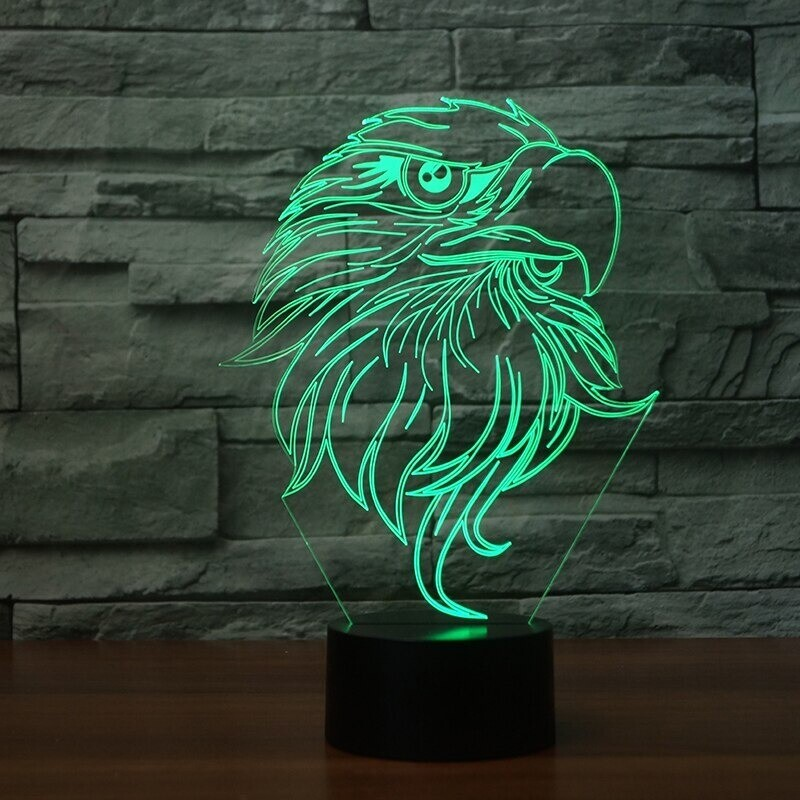 Eagle Moulding - 3D Night Light Table Lamp