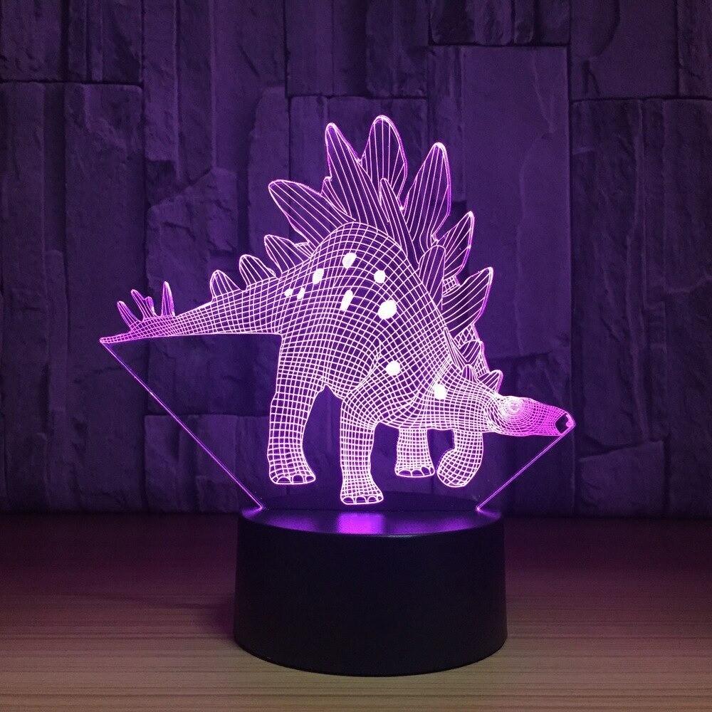Jurassic Dinosaur - 3D Night Light Table Lamp