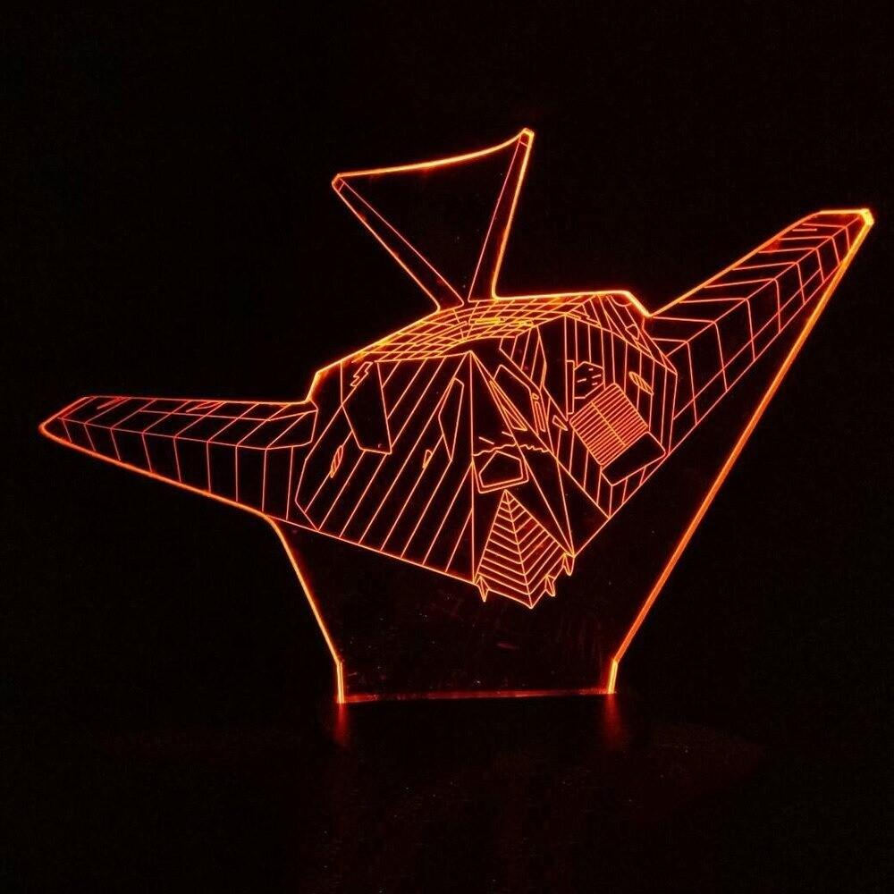 Airplane - 3D Night Light Table Lamp