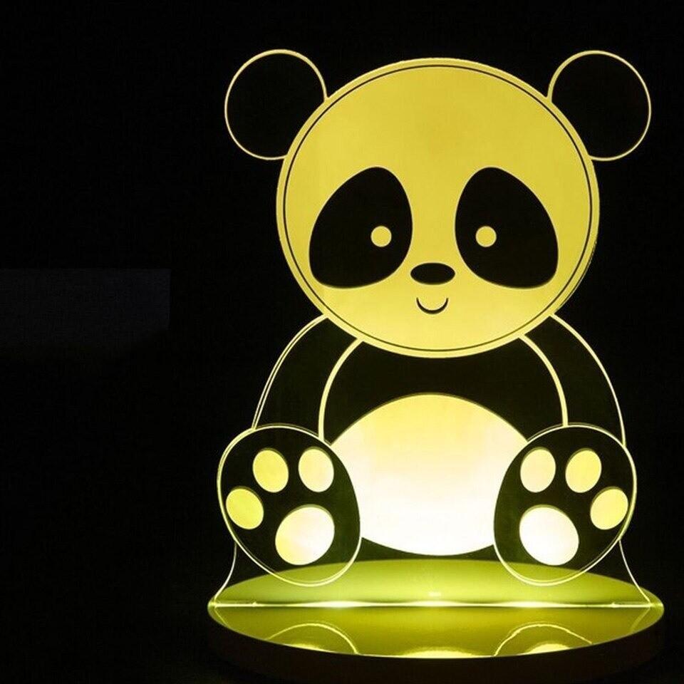 Panda - 3D Night Light Table Lamp