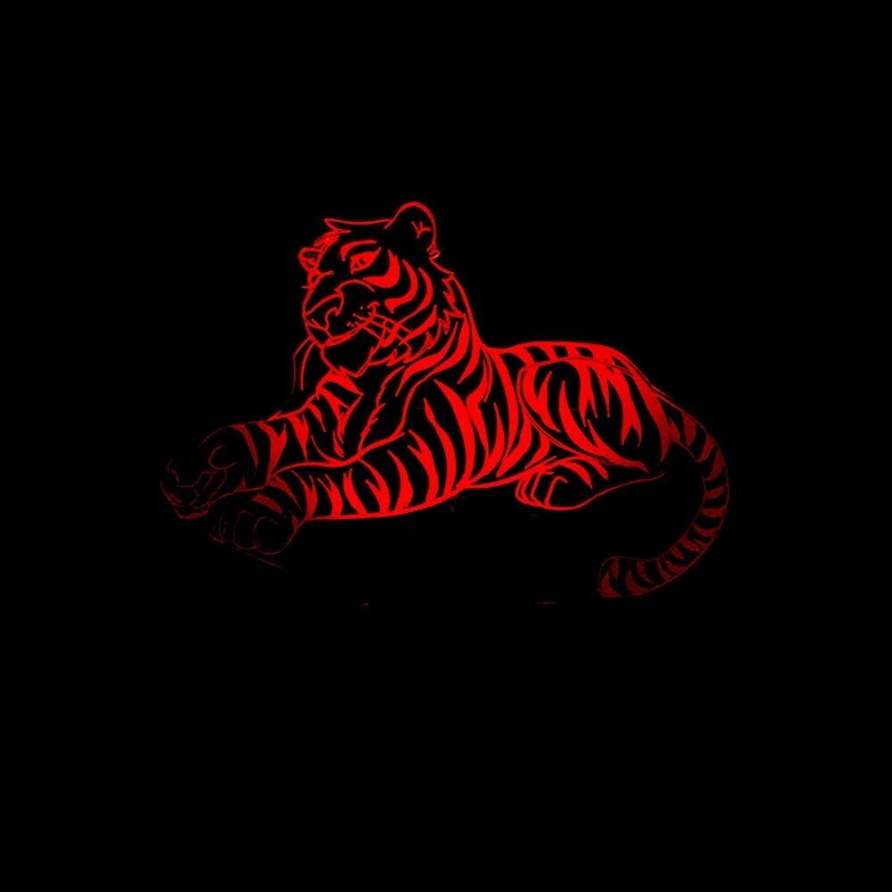 Tiger - 3D Night Light Table Lamp