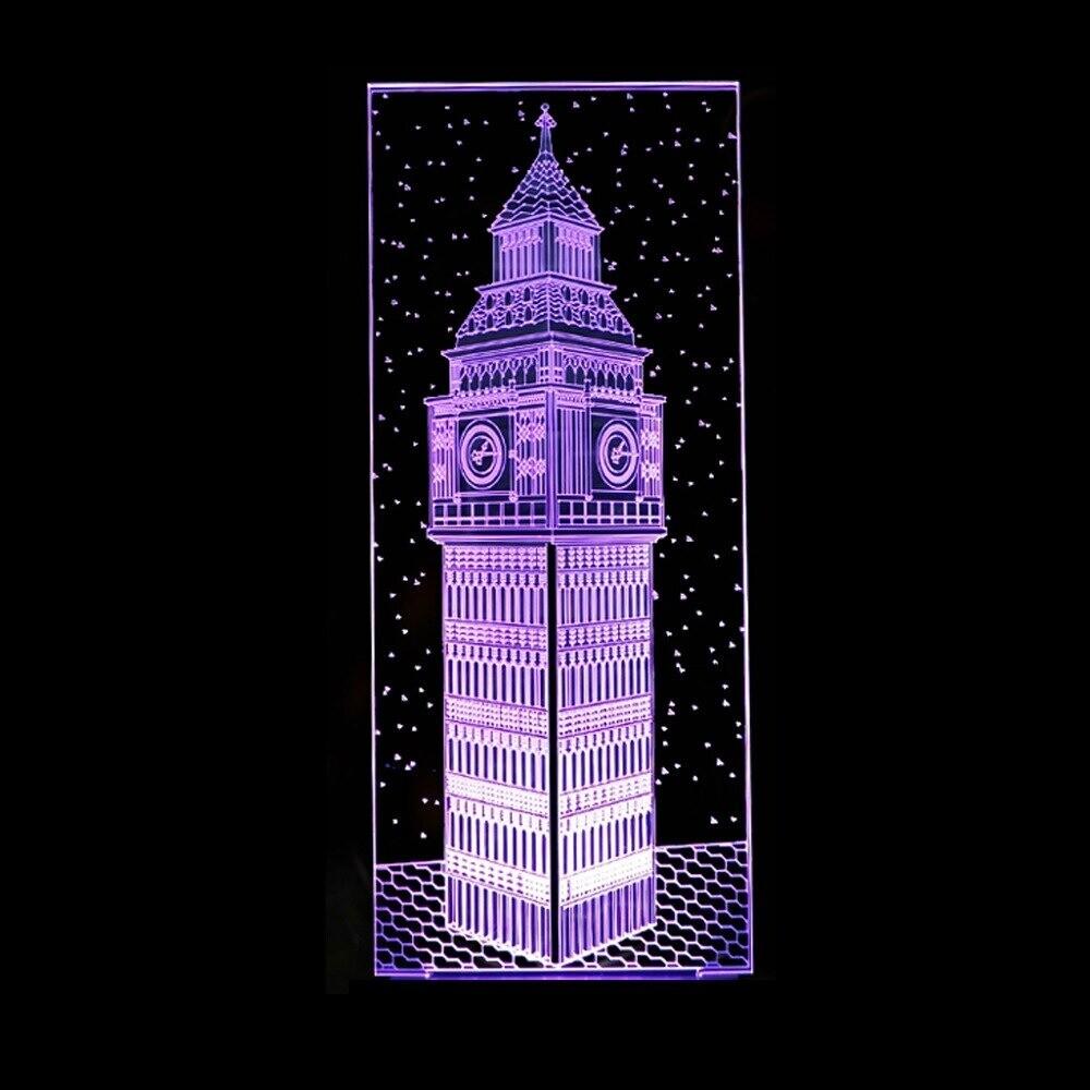 Big Ben - 3D Night Light Table Lamp