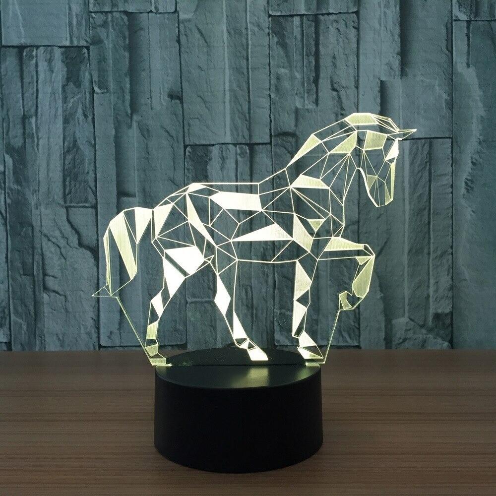 Zebra - 3D Night Light Table Lamp