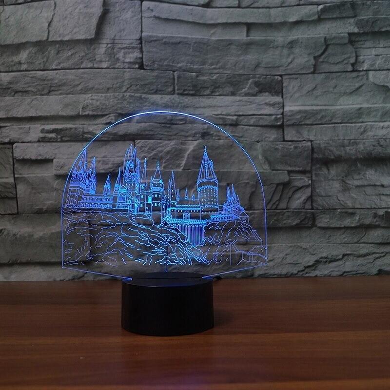 Lampada - 3D Night Light Table Lamp