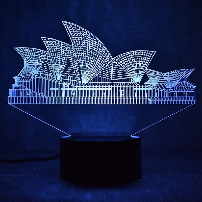 Sydney - 3D Night Light Table Lamp