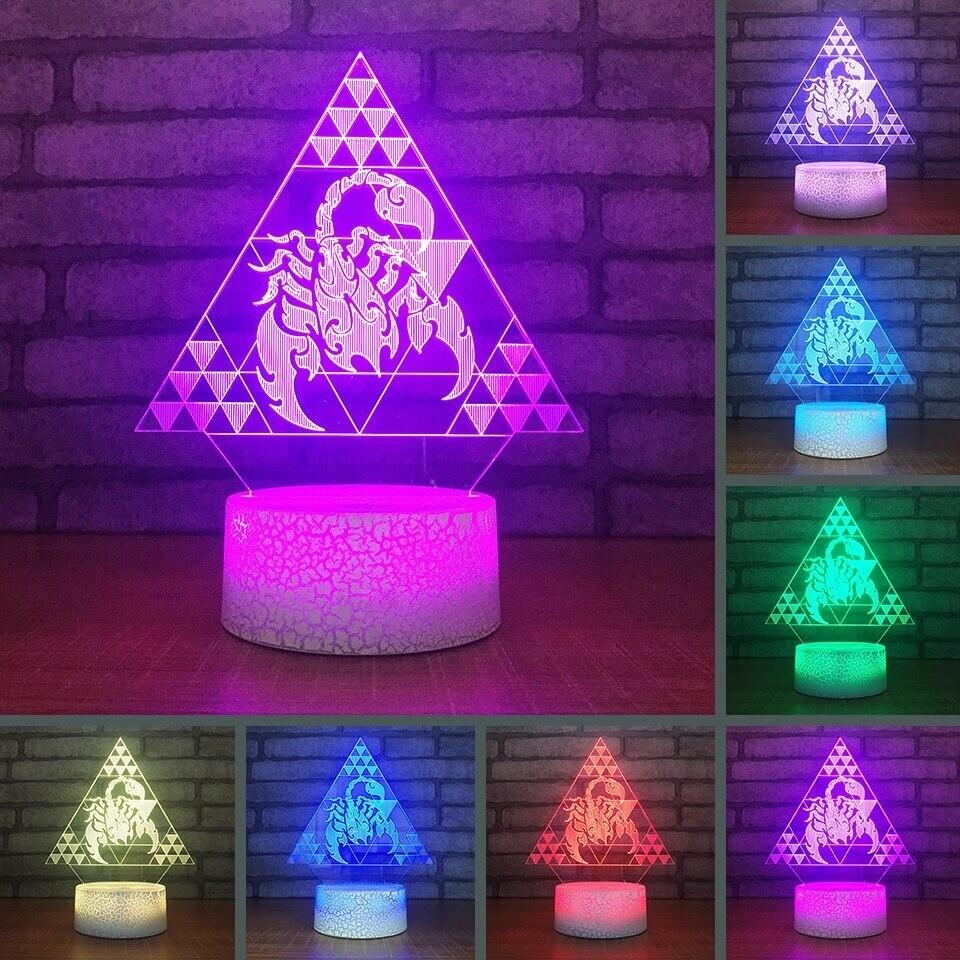 Constellation Scorpion - 3D Night Light Table Lamp